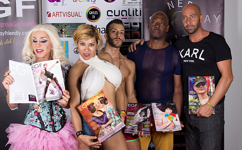revista gay EGF and the city