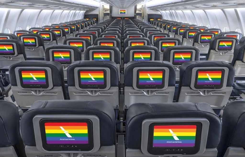 american airlines gay friendly